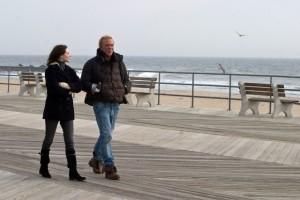 Evan Rachel Wood und Mickey Rourke