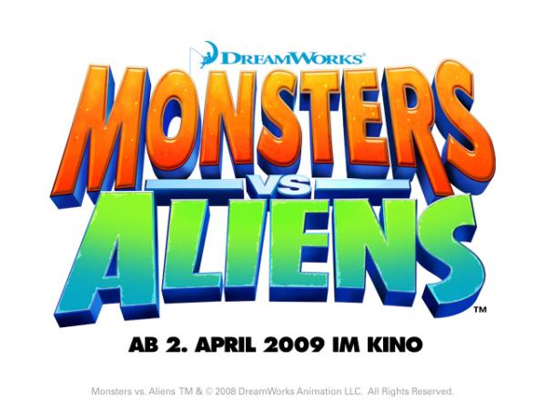 monsters vs aliens logo